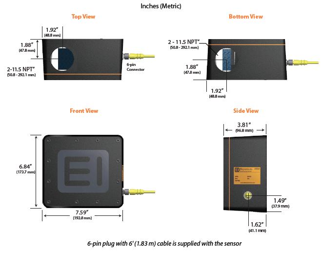 70-24 Non-ferrous MagnaValve Sensor