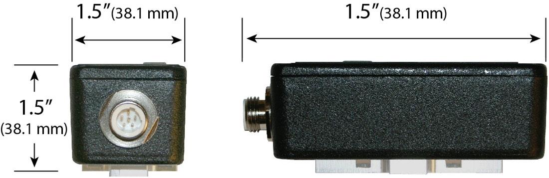 MFD-4 Sensor Dimensions - Electronics Inc