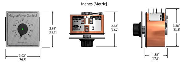 Variac Controller Dimensions - Electronics Inc